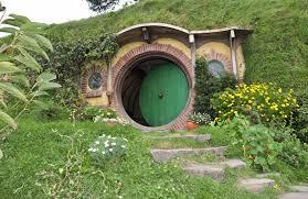 hobbit hole house home design