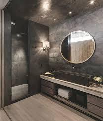 Slate Tile Bathroom Ideas Black Bathroom Ideas Bathroom Modern Interior Design Black Slate