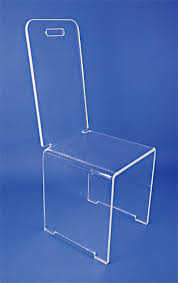 chaise en plexiglas chaise plexiglass