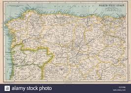 Asturias Spain Map by North West Spain Galicia Asturias Leon Old Castille Basque