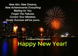 new year wishes for 365greetings