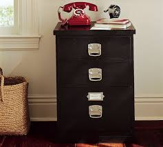 How To Paint A Metal File Cabinet Filing Cabinets Pottery Barn