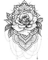 the 25 best mandala flower tattoos ideas on pinterest mandala