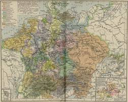 Historical Maps Of Europe by Central Europe About 1547 Full Size