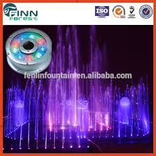led fountain lights underwater stainless steel multicolor underwater led fountain ring light buy