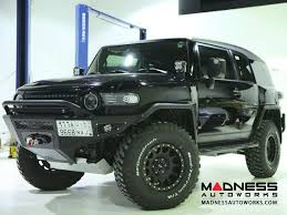 toyota cruiser 2007 toyota toyota fj cruiser stealth fighter front winch bumper by