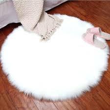 fur chair cover faux fur chair imitation wool fluffy rugs chair cover carpet