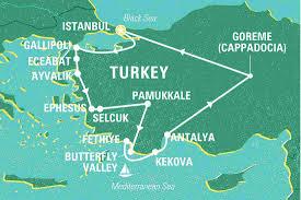 Istanbul On World Map by Turkey Tales Turkey Tours Geckos Adventures Us