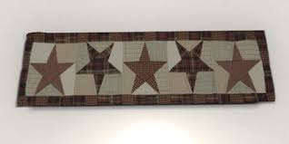 Primitive Table Runners by Second Life Marketplace Old Barn Door Primitive Americana Star