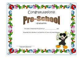 preschool graduation certificate preschool graduation certificate template 2 ss the best template