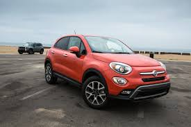 red jeep renegade 2016 2016 fiat 500x trekking awd better or worse than the jeep