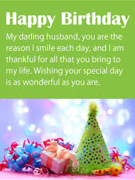 card for husband i am thankful for you happy birthday wishes card for husband