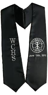 stoles graduation interact club graduation stole sashes as low as 8 99 high
