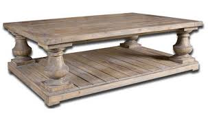 Restoration Hardware Tables Restoration Hardware Balustrade Salvaged Wood Coffee Table
