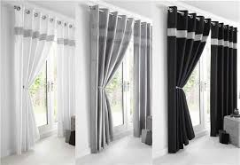 Luxury Grey Curtains New Luxury Diamante Panel Faux Silk Eyelet Ring Top Lined Curtains