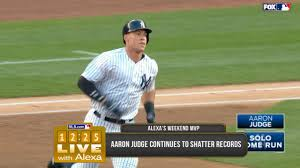 Aaron Judge Gary Sanchez Struggle In Game 1 Loss To Indians Newsday - aaron judge hits mlb s longest hr in 2017 mlb com
