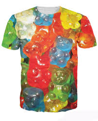 gummy clothes aliexpress buy gummy bears t shirt haribo gold bears gummi