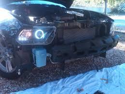 Black 2010 Mustang Gt Raxiom Mustang Smoked Projector Headlights Ccfl Halo 49129 10