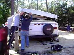 fixing a pop up camper that won u0027t fold down youtube