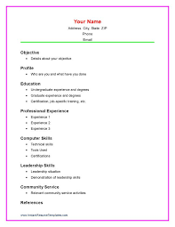 Highschool Resume Examples by High Resume Template Download Free U0026 Premium Templates