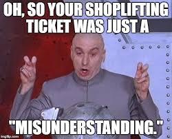 Shoplifting Meme - dr evil laser salt mines pinterest