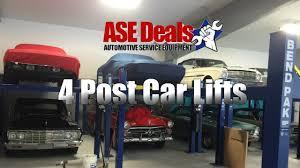 bendpak hd9 4 post car lift asedeals video youtube