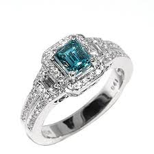 blue diamond wedding rings vintage blue diamond wedding rings the wedding specialiststhe