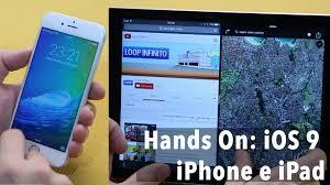Map Mas Ios Hands On Ios 9 Iphone E Ipad Youtube