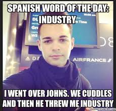 Spanish Word Of The Day Meme - word of the day industry
