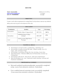 fair resume headline examples for fresher engineer for electrical