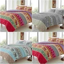 new elly elephant animal duvet cover bedding set single double