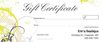 gift cards for small business gift cards for small business business gift certificates uprinting