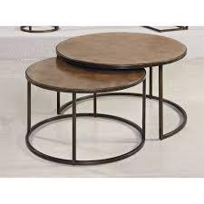 hammary 376 911 soho round cocktail table homeclick com