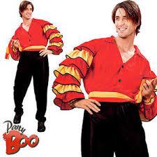 rumba man spanish fancy dress latin carnival mens national