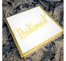 gold foil gift boxes wedding favor gift box custom name with foil gold vinyl aftcra