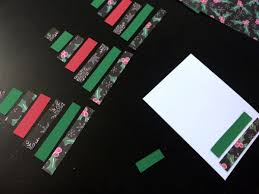 make easy christmas card craft mumturnedmom