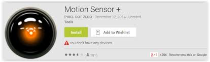 can you put a motion sensor on any light top 7 motion detector apps for android to prevent you