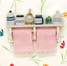 bathroom accessory towel rack with toiletries set od001b ebay