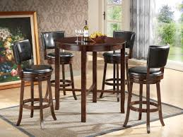 dark brown round kitchen table white round dining table black glass top gold and black rug dark