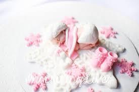 snowflake cake topper snowflake baby shower cake topper girl frozen pink winter