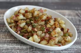 easy ham and potato hash recipe
