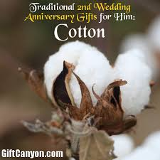2nd wedding anniversary gifts for traditional 2nd wedding anniversary gifts for him cotton gift