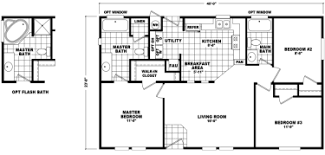 Double Wide Mobile Home Floor Plans Double Wide Mobile Homes Factory Expo Home Center