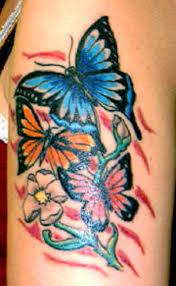 butterfly arm designs half sleeve butterfly flowers