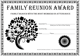 family reunion certificates tree in bloom 2 is a free family