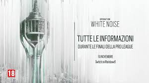 R6 Siege Operation White Noise Ela And Twitch White Noise Map Teaser Rainbow Six Siege