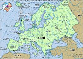 europe phisical map europe facts land economy land britannica