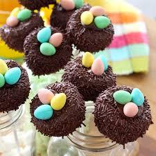 cake pops bird s nest cake pops recipe tastemade