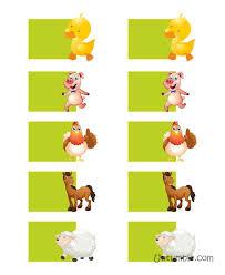 Birthday Wish Tree Barnyard Animal Shaped Wish Tree Tags Pack Of 10 Barnyard