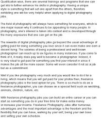 Freelance Photographer Resume Examples Custom Expository Essay Writing Sites Uk Ielts Sample Essay On